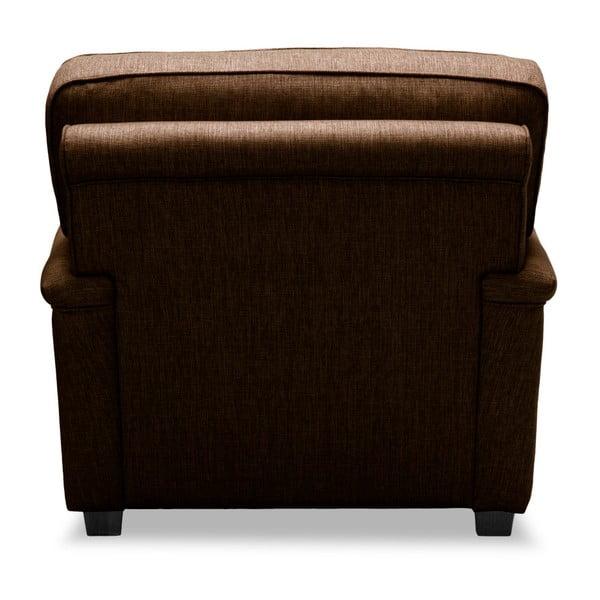 Brązowy fotel Vivonita William