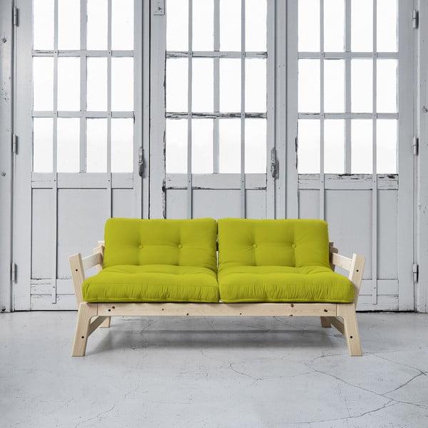 Sofa rozkładana Karup Step Natural/Pistacio