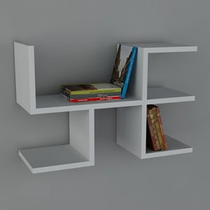 Półka Cool Book White, 61,8x40x22 cm