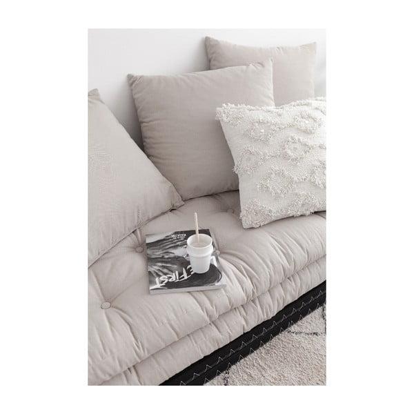 Sofa rozkładana z zielonym obiciem Karup Design Chico Olive Green