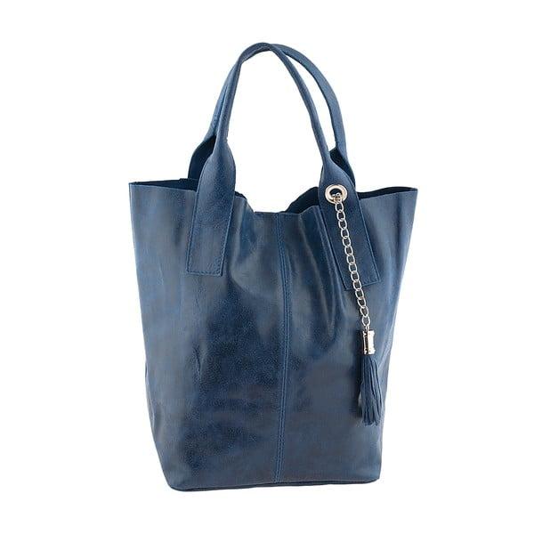 Niebieska torebka skórzana Ore Diece Laura
