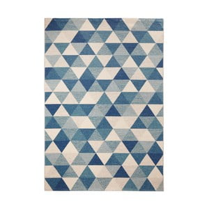 Niebieski dywan Mint Rugs Diamond Triangle, 200x290 cm