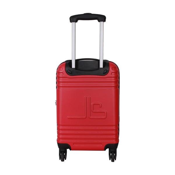 Walizka z bagażem podręcznym Case Jean Louis Scherrer Red