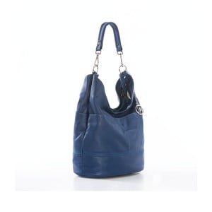 Skórzana torebka Guido, niebieska
