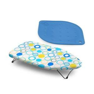 Zestaw: deska do prasowania i (termo)podkładka wielofunkcyjna Bonita Blue