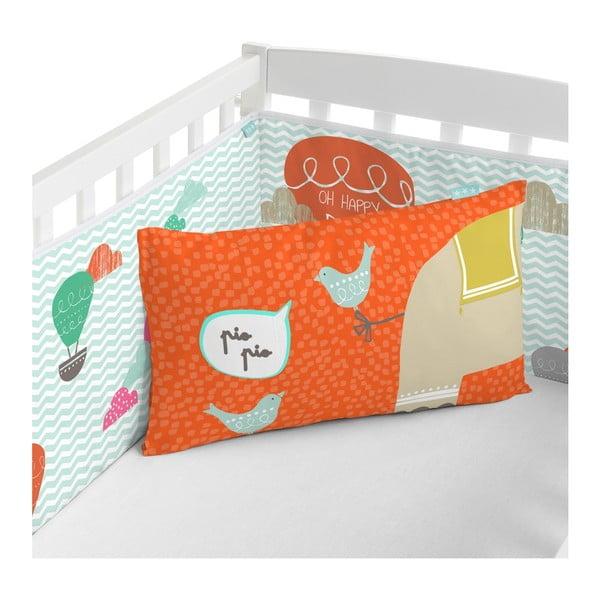Ochraniacz do łóżeczka Moshi Moshi Elephant Parade, 210x40 cm