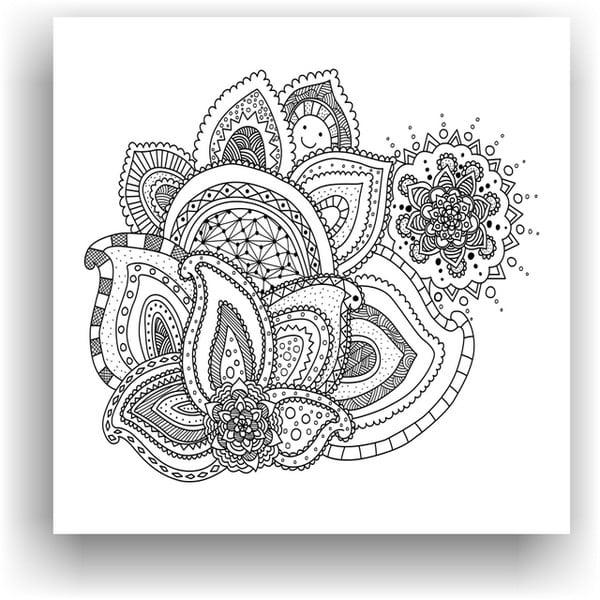 Obraz do kolorowania 40, 50x50 cm