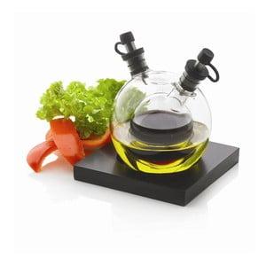 Zestaw butelek na ocet i olej z tacką XD Design Orbit