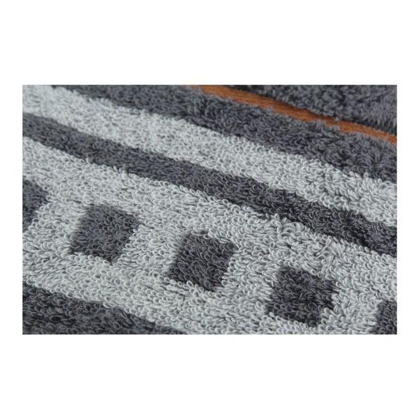 Komplet 2 ręczników Dark, 70x140 cm