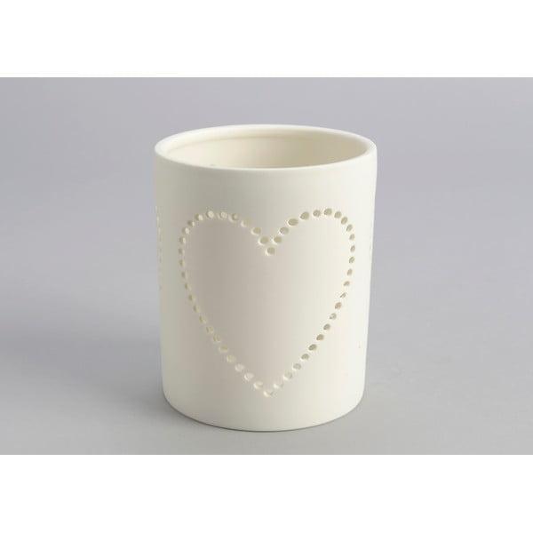 Świecznik Heart Candle Jar
