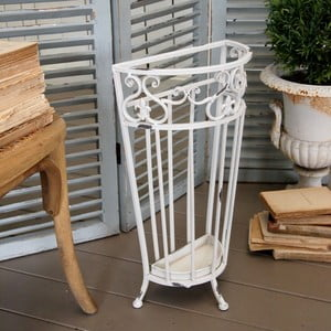 Parasolnik Support Shabby White