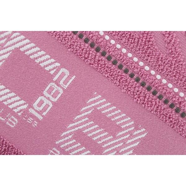 Ręcznik bawełniany BHPC 50x100 cm, pastelowy różowy
