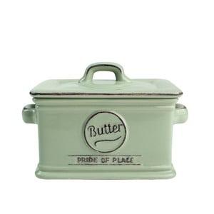 Zielona maselniczka porcelanowa T&G Woodware Pride of Place