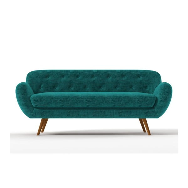 Trzyosobowa sofa Zefir, lekko uszkodzona