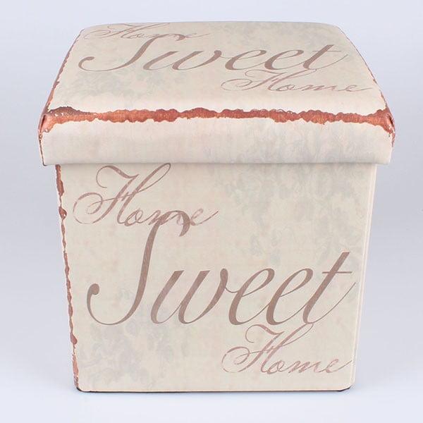 Taboret ze schowkiem Sweet