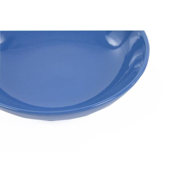 Zestaw 6 talerzy Kaleidoskop 21 cm, niebieski