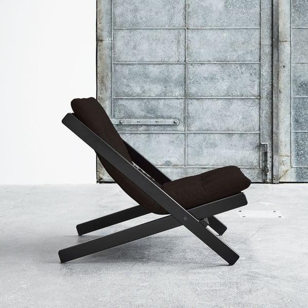 Fotel składany Karup Boogie Black/Brown