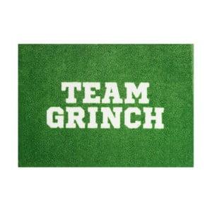 Zielona wycieraczka Mint Rugs StateMat Team Grinch, 50x75 cm