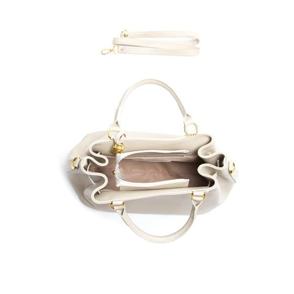 Skórzana torebka Isabella Rhea 183 Beige