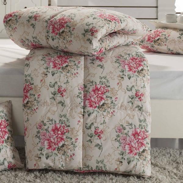 Narzuta pikowana na łóżko jednoosobowe Anette, 155x215 cm