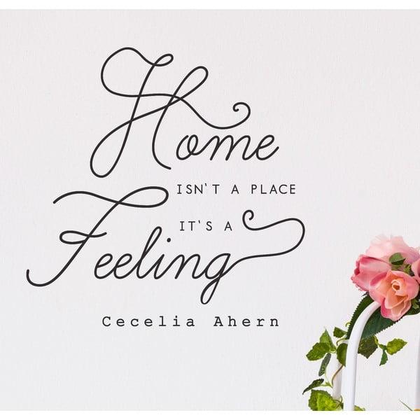 Naklejka dekoracyjna Home Feeling