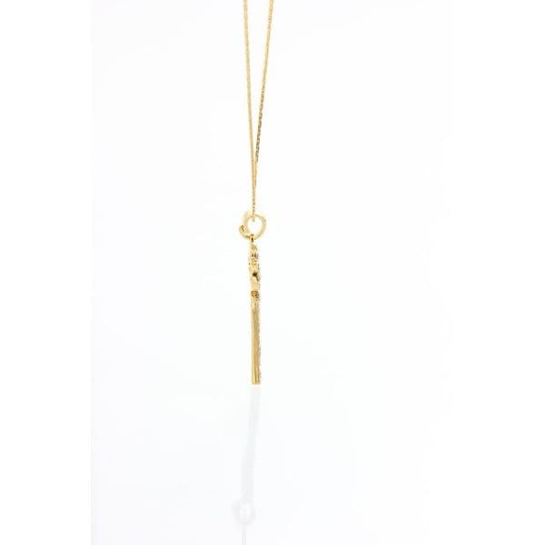 Naszyjnik z kryształami Swarovskiego Yasmine Golden Key