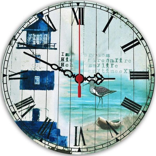 Zegar ścienny Seaside, 30 cm