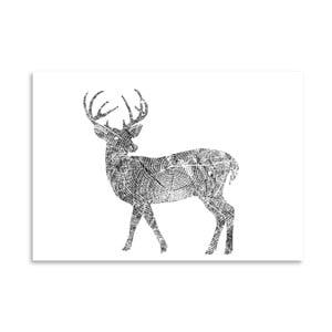 Plakat Americanflat Deer, 30x42 cm