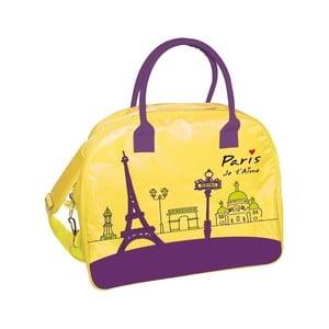Żółta   torba podróżna Incidence Paris