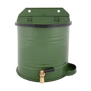 Zielony pojemnik z kranem na wodę Esschert Design Garden