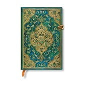 Notes w linie w twardej oprawie Paperblanks Turquoise Chronicles, 9,5x14 cm