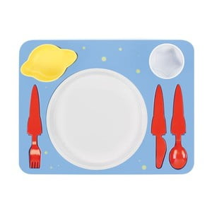 Zestaw obiadowy Space Dinner