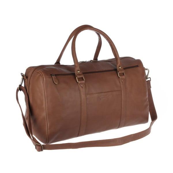 Skórzana torba męska Global Chestnut