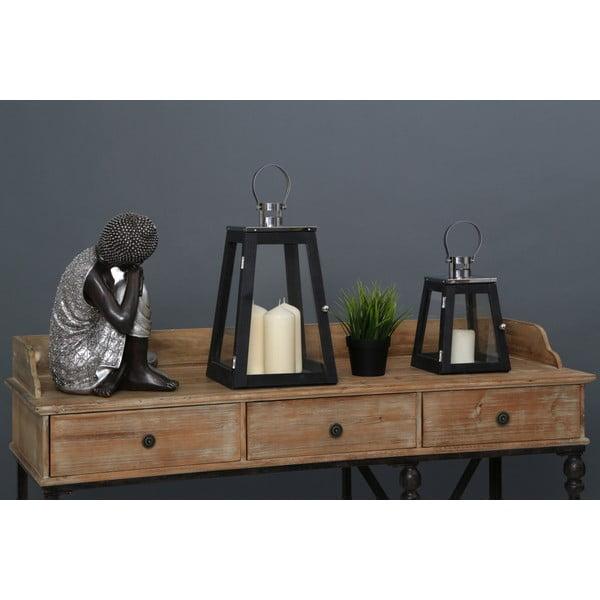 Świecznik Regents Park Black, 26 cm