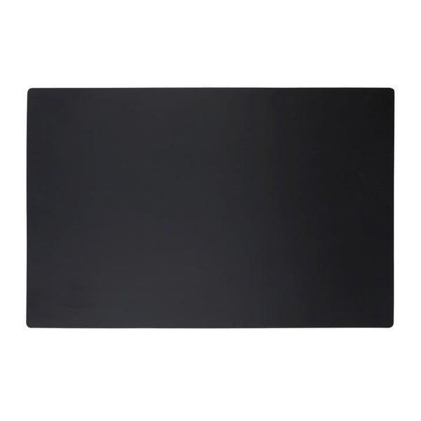 Mata stołowa Classic Black, 44x28,5 cm