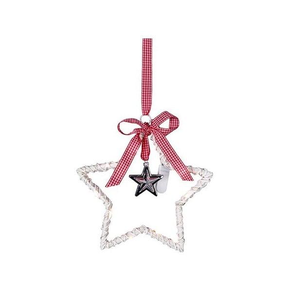 Świecąca dekoracja Willow Star White