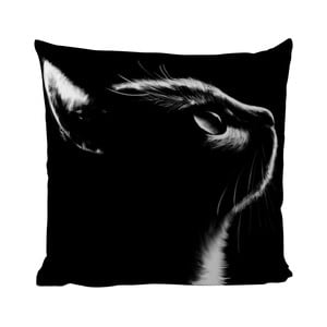 Poduszka Black Shake Black Cat, 50x50 cm