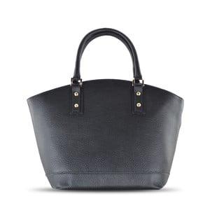 Skórzana torebka Sally, czarna
