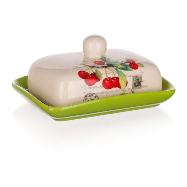 Maselniczka ceramiczna Banquet Cherry, 17,5 cm