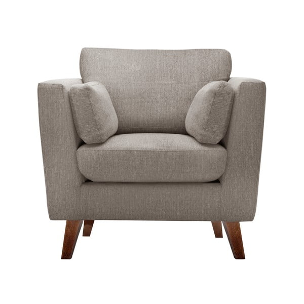 Zestaw fotela i 2 sof dwuosobowej i trzyosobowej Elisa, orzechowe