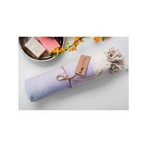 Ręcznik hammam Jacquard Grey, 100x180 cm
