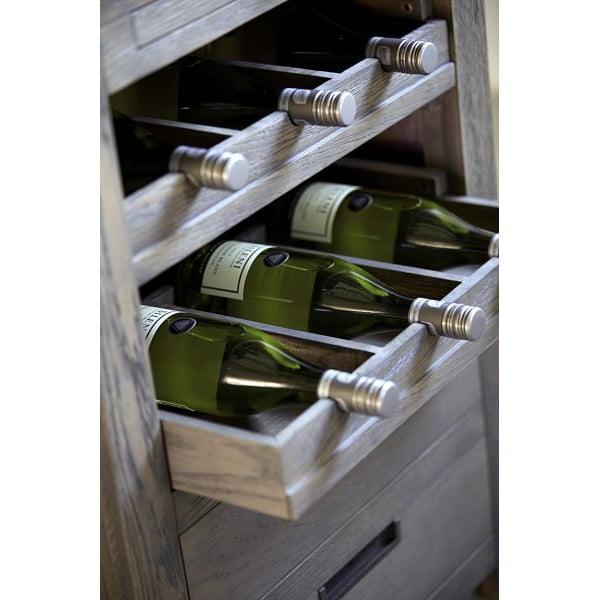 Szafka na wino Cross Smoked, 64x86x60 cm