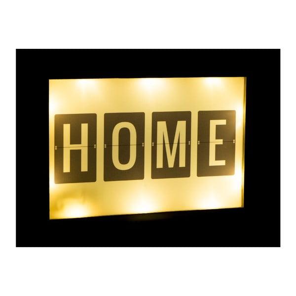 Świecąca dekoracja LED Home