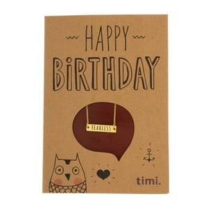 Naszyjnik Happy Birthday