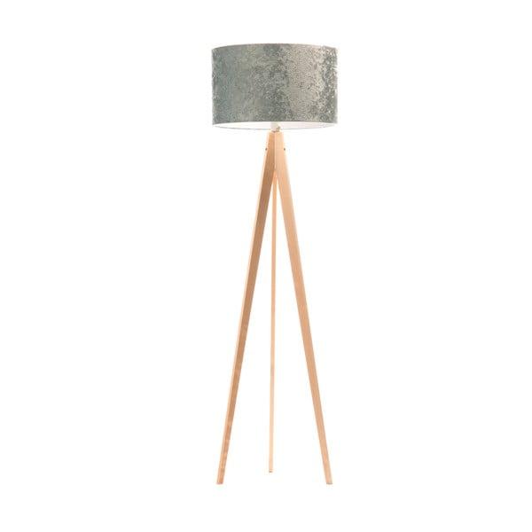 Lampa stojąca Artist Celestia Blue/Birch, 150x42 cm