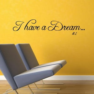 Naklejka I Have a Dream