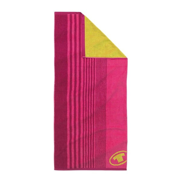 Ręcznik Tom Tailor Sport Pink, 70x150 cm