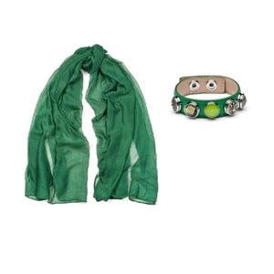 Chusta i bransoletka Green