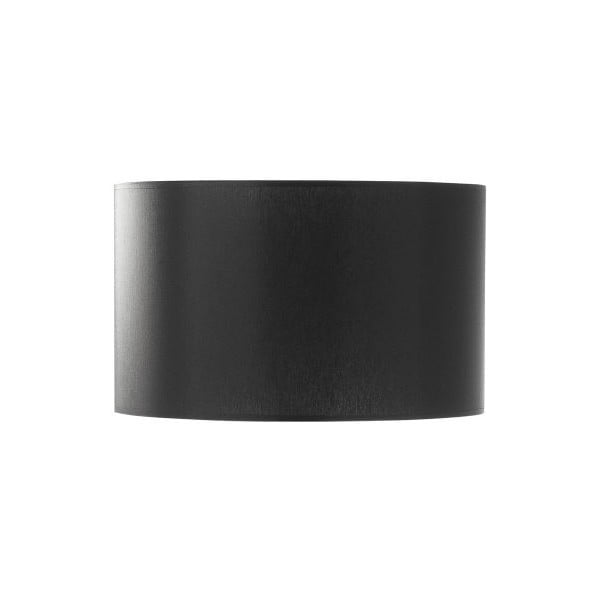 Abażur Big Cylindrical Black