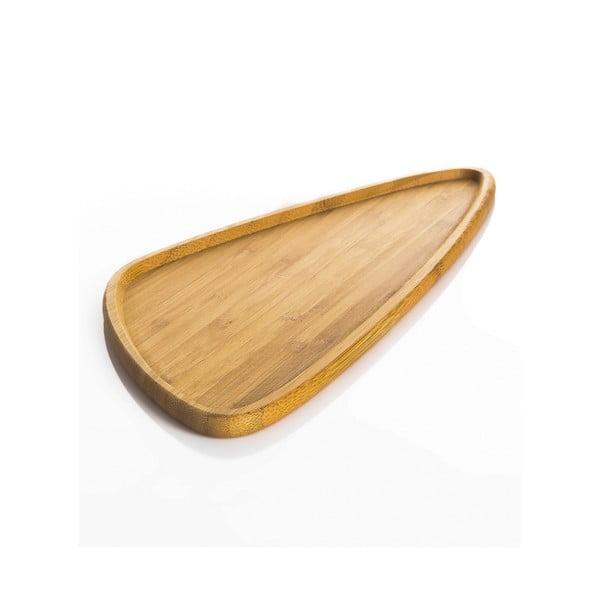 Bambusowa taca Bambum Viego Triangle L